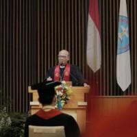 Renungan singkat oleh pendeta universitas